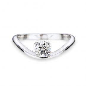 Diamant Solitär Ring Ozean von
