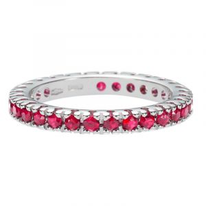 Memoire Ring mit Rubinen 1,18ct