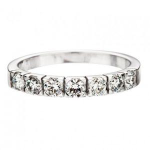 Halballianz Ringe mit 7 Diamanten 0.70ct
