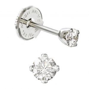 Clous d'oreilles diamants 4 griffes dès
