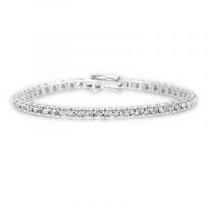 Tennisarmband mit Diamanten 3,00ct