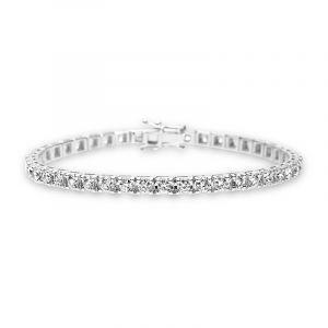 Tennisarmband mit Diamanten 3,58ct