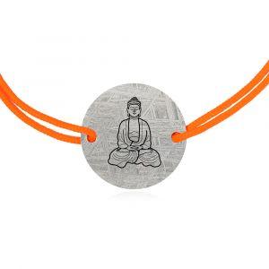 Meteorite bracelet bouddha