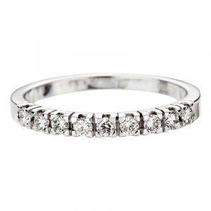 Halballianz Ringe mit 9 Diamanten