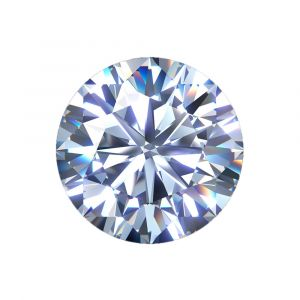 Synthetischer Diamant, Brilllant Schliff 3,05ct H VS2