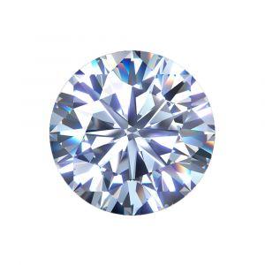 Synthetischer Diamant, Brilllant Schliff 1,00ct H SI1