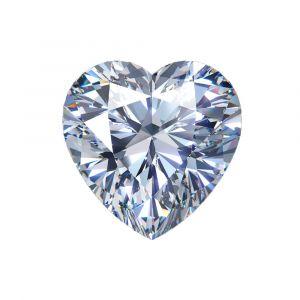 Synthetischer Diamant, Hart Schliff 1,17ct G VS1
