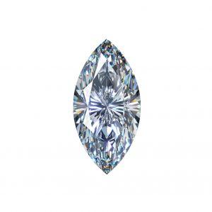 Synthetischer Diamant, Marquise Schliff 2,29ct F SI1
