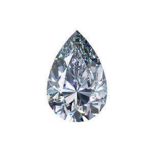 Diamant labgrown Tropfenschliff 2,13 ct G VS1