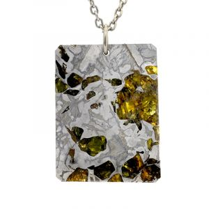 Pendentif météorite Pallasite