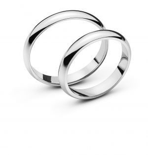 Alliance or gris 3.4mm