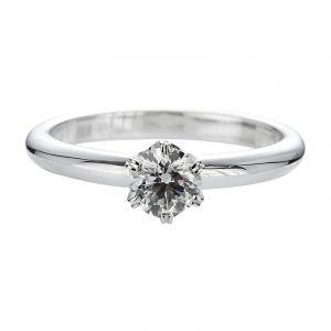 Bague solitaire diamant 6 griffes dès